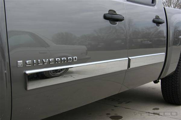 Chevrolet Silverado Putco Body Side Molding Abs Plastic