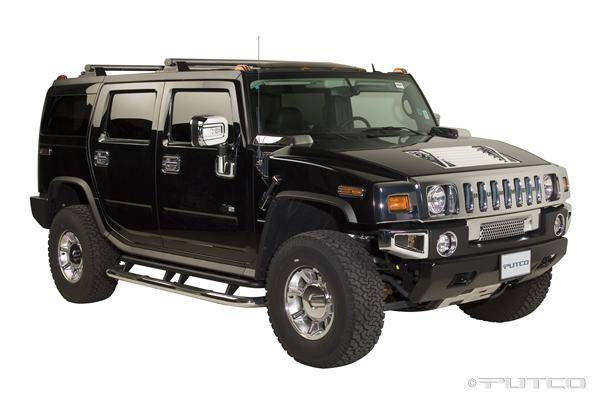hummer h2 putco exterior chrome accessory kit 405007
