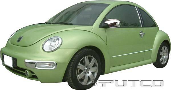 volkswagen beetle putco exterior chrome accessory kit 405055
