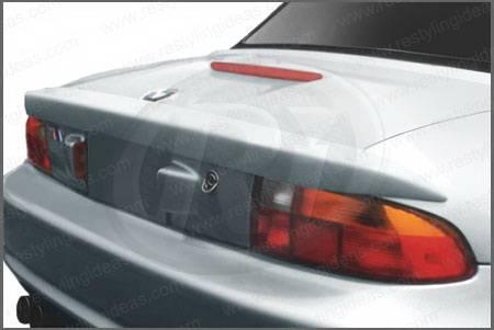 Bmw z3 restyling ideas factory lip style spoiler 01 bmz397f for 1997 bmw z3 rear window replacement