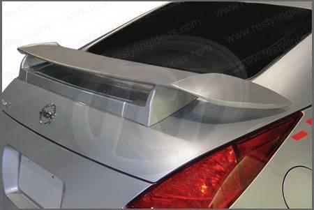 Nissan 350Z Restyling Ideas Custom Nismo Style Spoiler - 01
