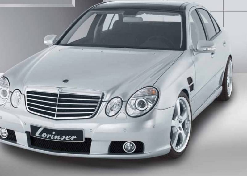 Mercedes benz e class lorinser body kit for Mercedes benz e350 accessories