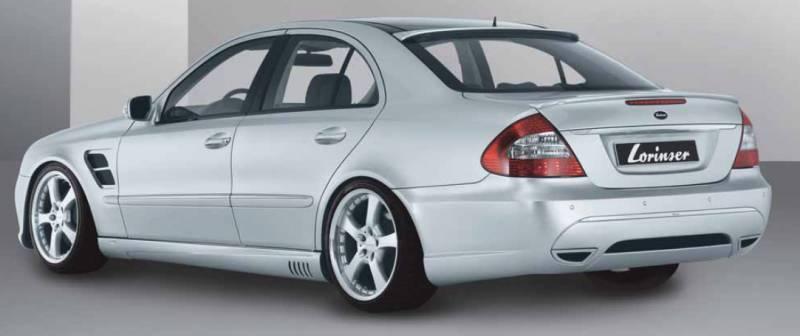 Mercedes benz e class lorinser body kit for Mercedes benz body parts