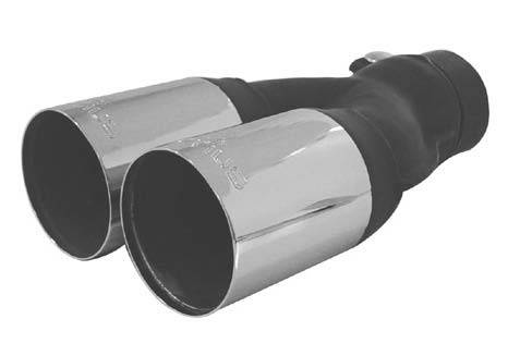 Audi A3 Remus PowerSound Dual Exhaust Tips - Round - 0000 04G
