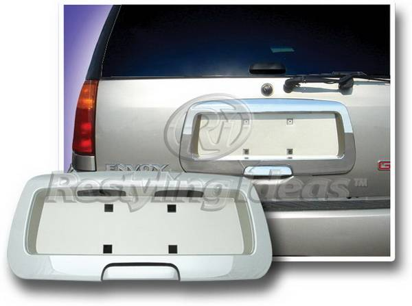 GMC Envoy Restyling Ideas License Plate Holder Cover