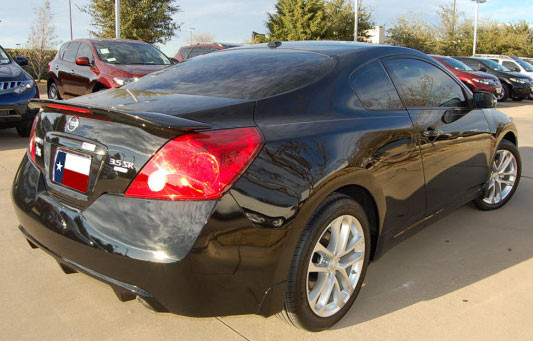 nissan altima coupe dar spoilers oem look flush wing w. Black Bedroom Furniture Sets. Home Design Ideas
