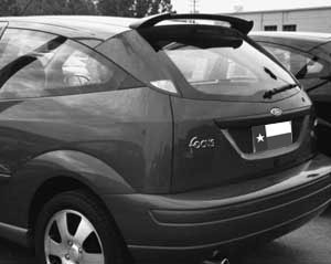 Ford Focus Zx3 Zx5 Dar Spoilers Oem Look Roof Wing W O Light