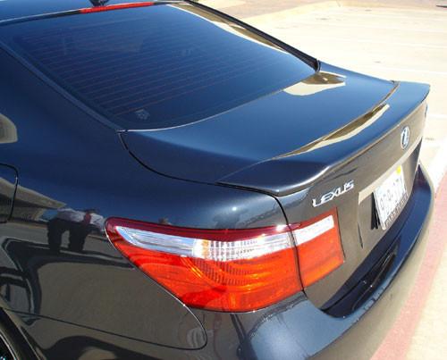 DAR FG-092 Lexus LS460 Large Lip Mount Rear Spoiler Unpainted