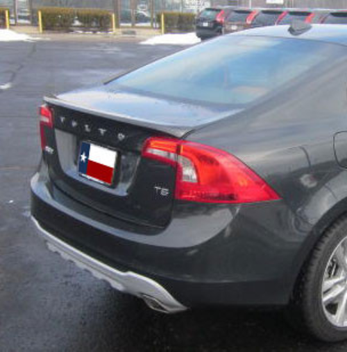 Used 2012 Volvo S60: Volvo S60 DAR Spoilers OEM Look Trunk Lip Wing W/o Light