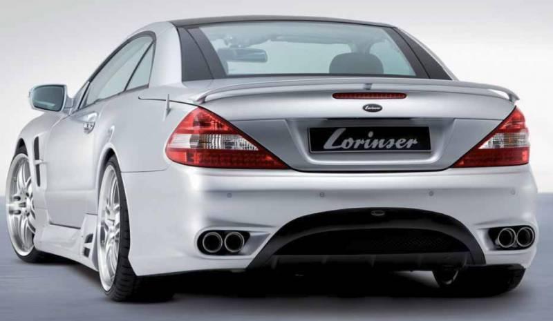 Mercedes-Benz SL Lorinser F01 Sport Cat-Back Exhaust - 490 0230 45