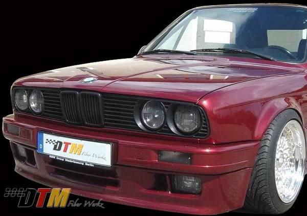 Bmw 3 Series Dtm Fiberwerkz Mtech Ii Style Front Bumper