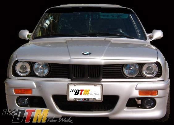 BMW 3 Series DTM Fiberwerkz RG E46 M3 Style Front Bumper