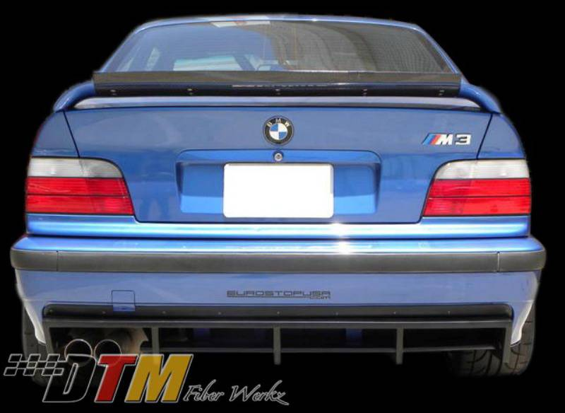 Bmw 3 Series Dtm Fiberwerkz M3 Dtm Rear Diffuser E36 M3