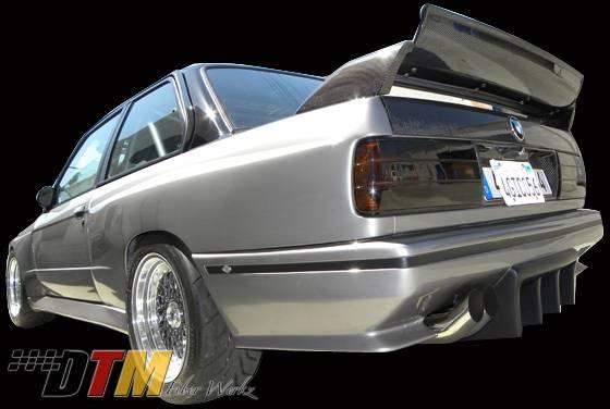 Bmw 3 Series Dtm Fiberwerkz Gtr Style Rear Bumper E30 M3 Gtr S