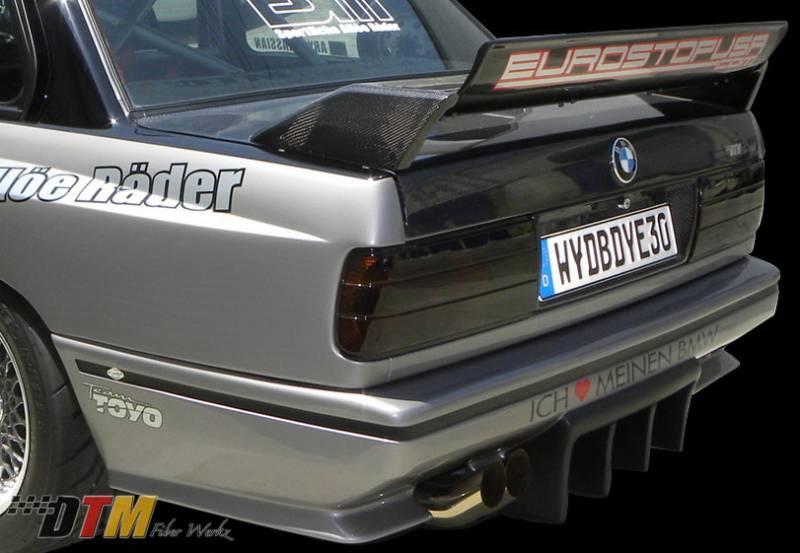 Bmw 3 Series Dtm Fiberwerkz M3 Gtr Style Rear Bumper E30 M3 Gtr S