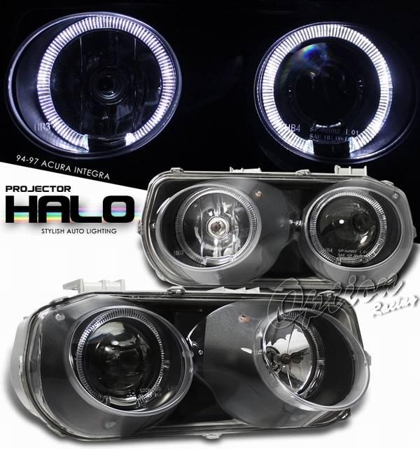 Acura Integra Option Racing Projector Headlight