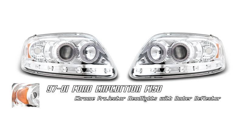 ford f150 option racing projector headlight