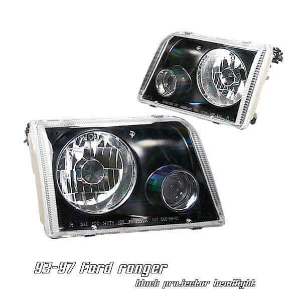 ford ranger option racing projector headlight 11 18175. Black Bedroom Furniture Sets. Home Design Ideas
