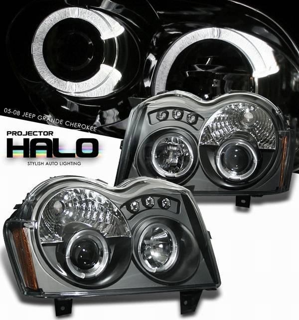 jeep grand cherokee option racing projector headlight 11 26301. Black Bedroom Furniture Sets. Home Design Ideas