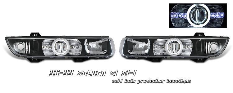 Optionracing Saturn Sl Option Racing Ccfl Projector Headlight 12 40126