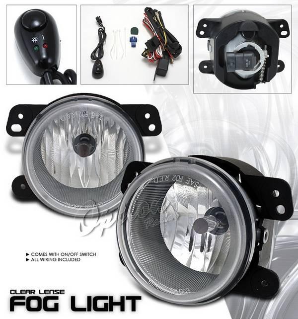 Chrysler 300 Option Racing Fog Light Kit