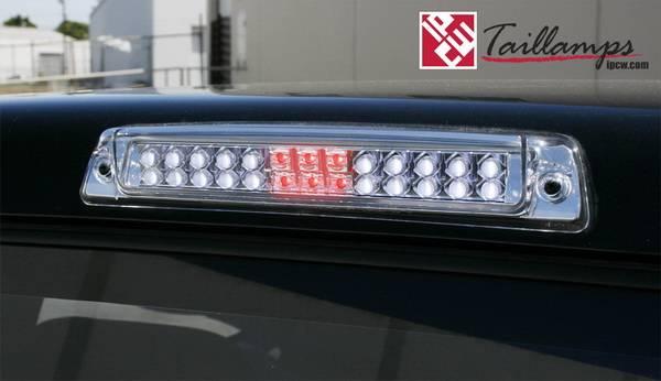 Dodge Ram Ipcw Led Third Brake Light With Cargo Light 1pc