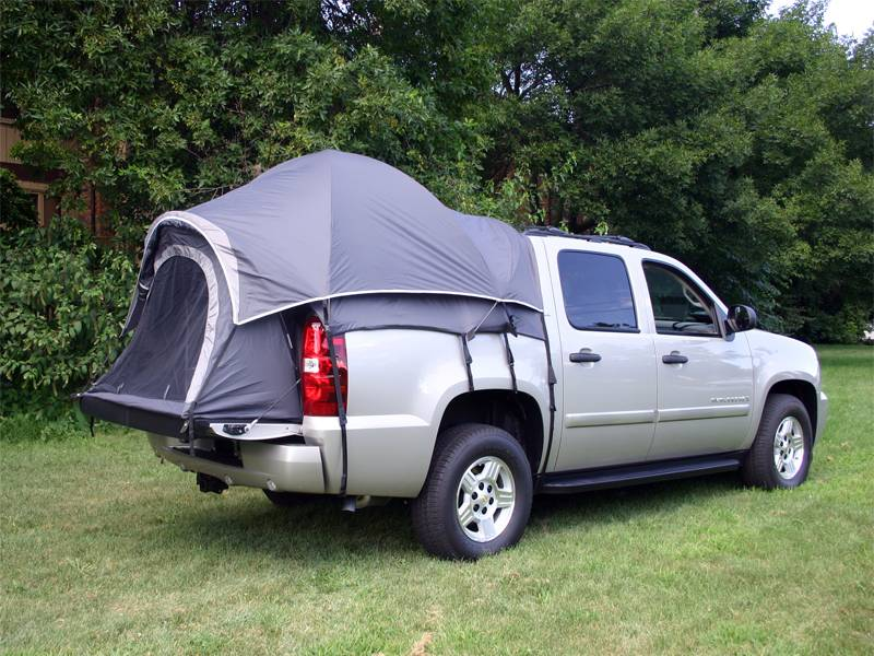 Off The Ground With Napier Outdoors Sportz Truck Tent 57