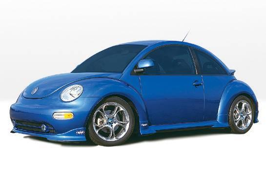 Volkswagen Beetle VIS Racing W-Type Complete Body Kit - 4PC - 890287