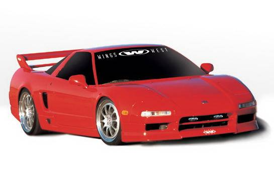 Acura NSX Wings West W-Type Complete Kit - 5PC - 890454 on honda west, toyota west, jeep west,