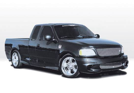 Ford F150 Vis Racing Lightning Style Complete Body Kit
