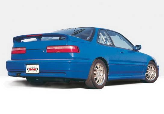 F on 1990 Acura Integra 4 Door