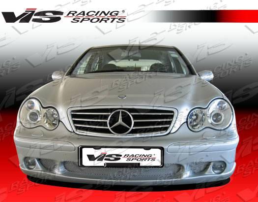 Mercedes benz c class vis racing laser 2 full body kit for Mercedes benz c class body kit