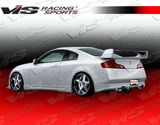 Infiniti G35 2dr Vis Racing Invader Full Body Kit