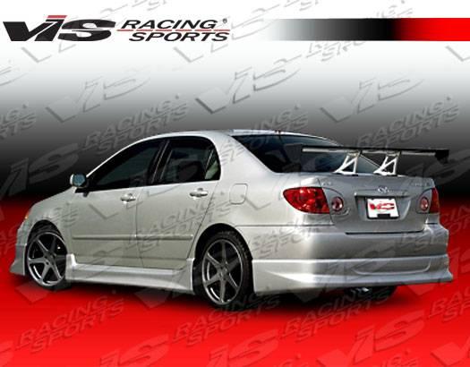 2004 Toyota Corolla For Sale >> Toyota Corolla VIS Racing Techno R-1 Full Body Kit - 03TYCOR4DTNR1-099