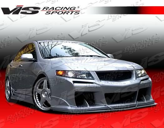 Acura TSX VIS Racing Laser Full Body Kit ACTSXDLS - Acura tsx body kit