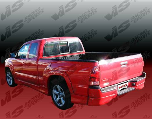 Toyota Tacoma 1999 >> Toyota Tacoma VIS Racing SRS Full Body Kit with Flares - 05TYTAC2DSRS-099
