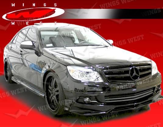 Mercedes benz c class vis racing jpc full body kit for Mercedes benz c class body kit