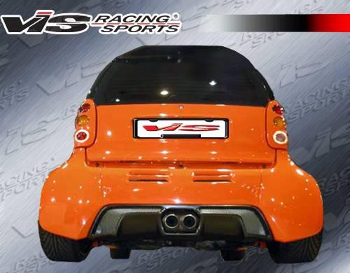 Smart ForTwo VIS Racing Max Widebody Full Body Kit ...
