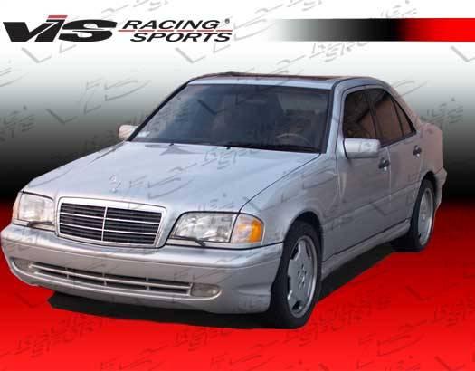 Mercedes benz c class vis racing c43 full body kit for Mercedes benz c class body kit