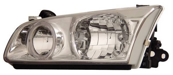 Anzo USA 121124 Toyota Camry with Halo Chrome Headlight Assembly Sold in Pairs