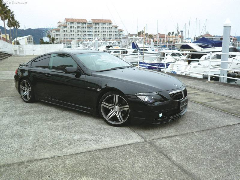 Bmw 6 Series E63 Complete Aero Kit