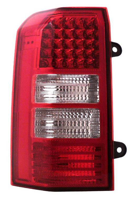 Jeep Patriot Anzo LED Taillights - Red & Clear - 311130