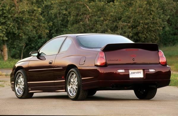 Chevrolet Monte Carlo Xenon Rear Deck Spoiler