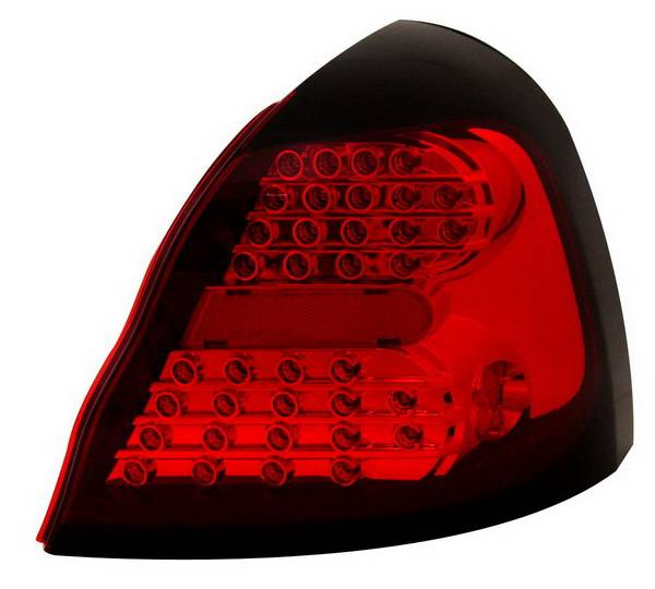 pontiac grand prix anzo led taillights all red 321148. Black Bedroom Furniture Sets. Home Design Ideas