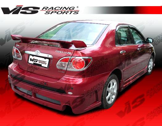 toyota corolla vis racing fuzion spoiler 03tycor4dfuz 003. Black Bedroom Furniture Sets. Home Design Ideas