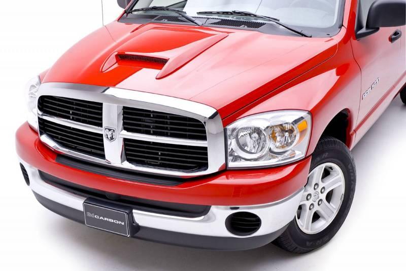 dodge ram 3dcarbon hood scoop 22 inch 691321. Black Bedroom Furniture Sets. Home Design Ideas