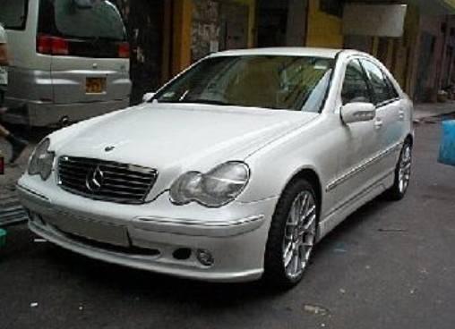 Mercedes c class bayspeed lorinser style full body kit 8483l 1111l 3068l - Mercedes c class coupe body kit ...