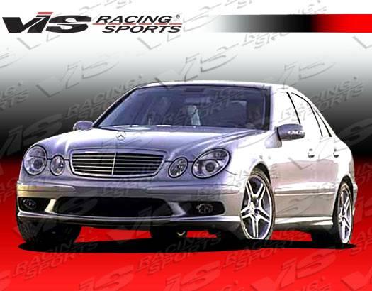 Mercedes benz e class vis racing euro tech front bumper for Mercedes benz technician