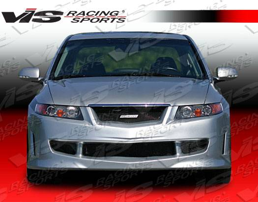 Acura TSX VIS Racing Techno R Front Bumper ACTSXDTNR - Acura tsx front bumper