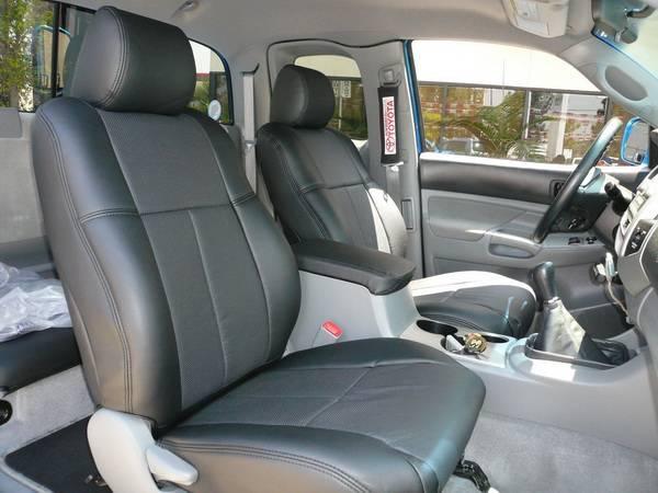 Cool Toyota Tacoma Clazzio Seat Covers Inzonedesignstudio Interior Chair Design Inzonedesignstudiocom